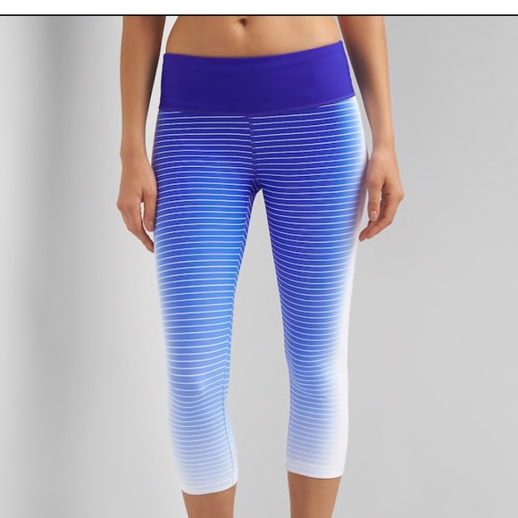 76a50adbe6bf7e GAP Pants | Fit Gfast Gradient Stripe Capris Legging Xs | Poshmark